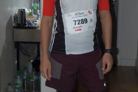 Getting ready for the 80km Ultra-race
